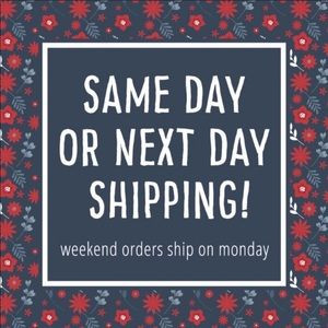 Other - I will ship your orders by the next day!